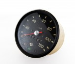 Tacho bis 120 km/h, Frontring schwarz Trabant Framo Barkas W50 Robur