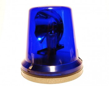 DDR Rundumleuchte blau 24 Volt FER 8562.5 W50 L60