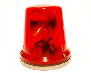 DDR Rundumleuchte rot FER 8562.4 Lada Wartburg Wolga